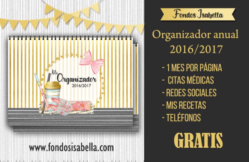 Agenda organizador gratis 2017