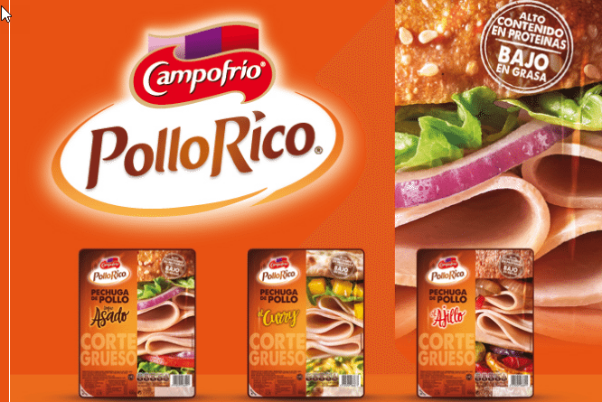Pruebalo gratis Campofrio Pollo Rico