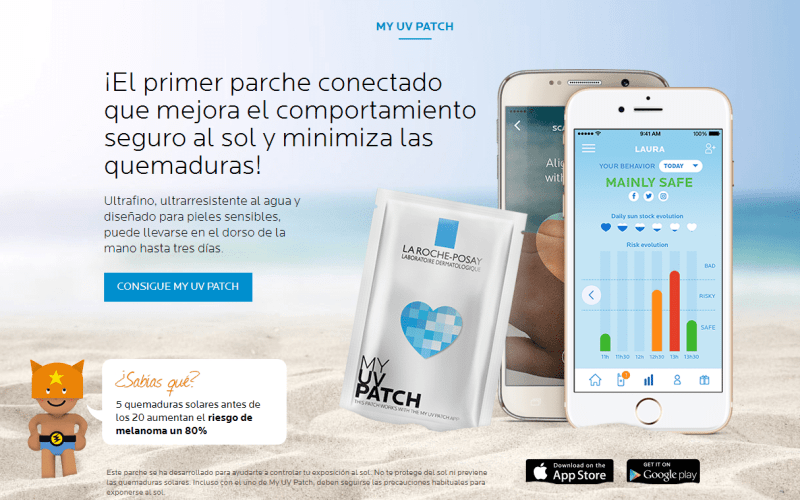 Consigue gratis un UV PATCH de La Roche Posay