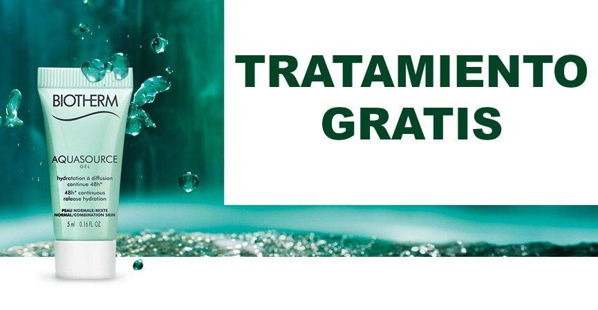 Consigue gratis un tratamiento express de Biotherm