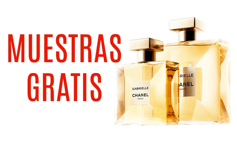 Muestras gratis de perfume Gabrielle de Chanel