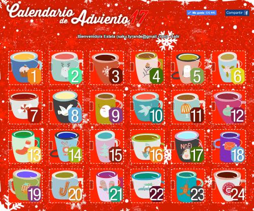 Calendarios de adviento con regalos 2017