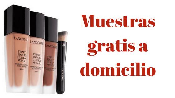 b22f67ffa Muestras gratis de maquillaje Lancome - Ahorro Domestico