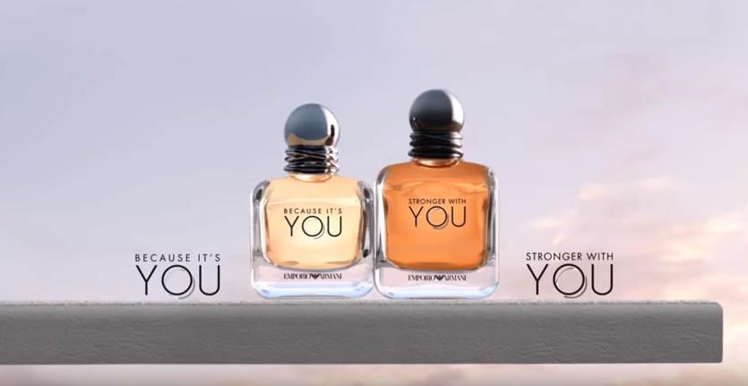 Muestras gratis de perfume You de Armani