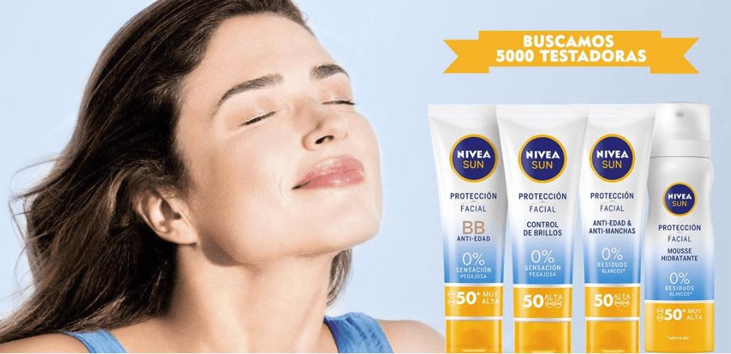 Regalan 5.000 muestras gratis de Nivea Sun