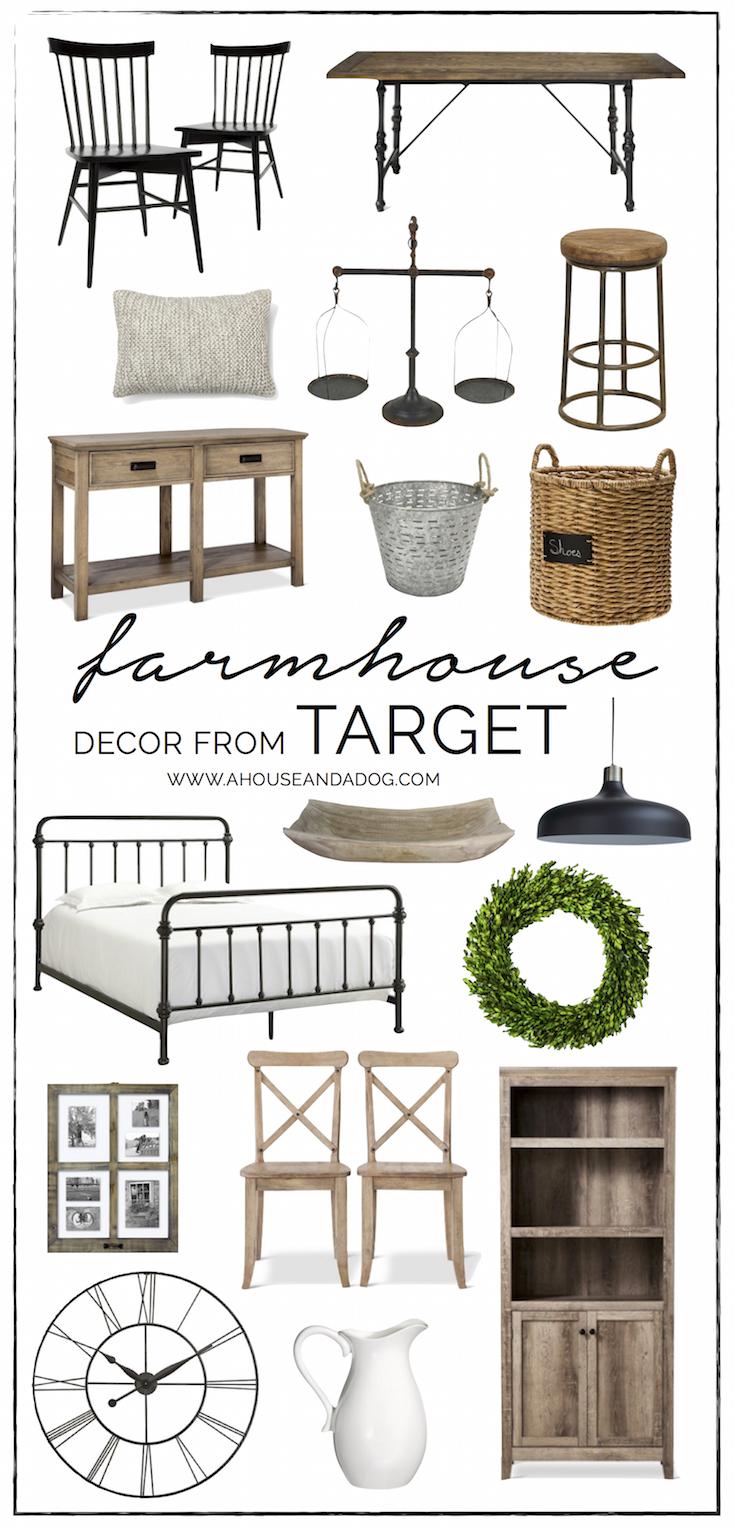 Farmhouse Decor at Target - shop farmhouse favorites!