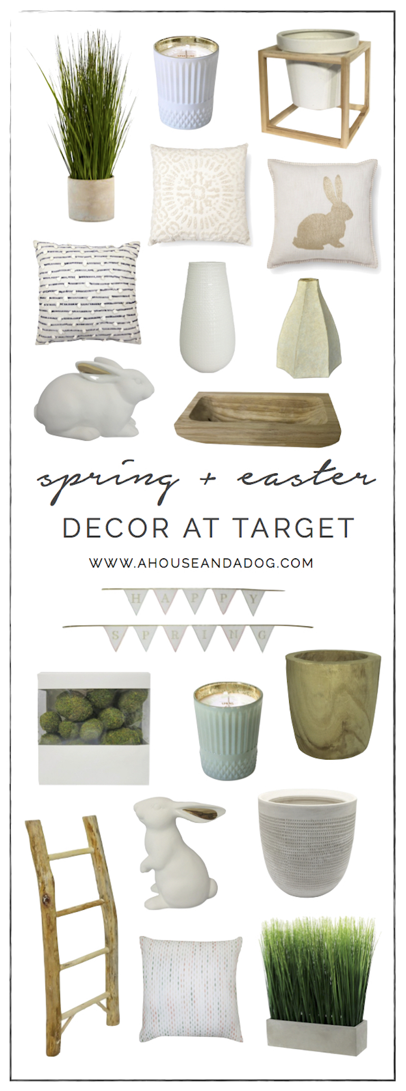 Spring + Easter Decor at Target | ahouseandadog.com