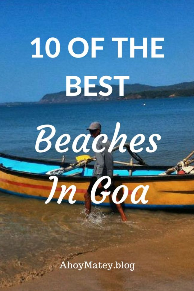 This list of the best beaches in Goa includes some of my all-time favourite beaches. You won't find any of the more popular, overcrowded beaches here that are done to death in every Goa travel guide. These are only the best beaches to visit, some a little off the beaten path. #Goa #Beach #Guide #GoaBeach #India