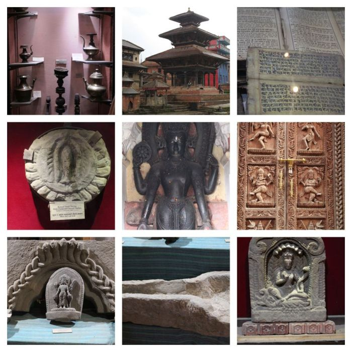 Scenes from Panauti museum and town in Nepal. Read all about my tour of Kathmandu, Bhaktapur and Panauti and find out where to stay and what to do on your own trip of Nepal.