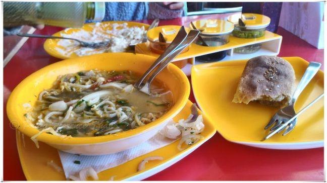 Tibetan Thukpa (noodle soup)