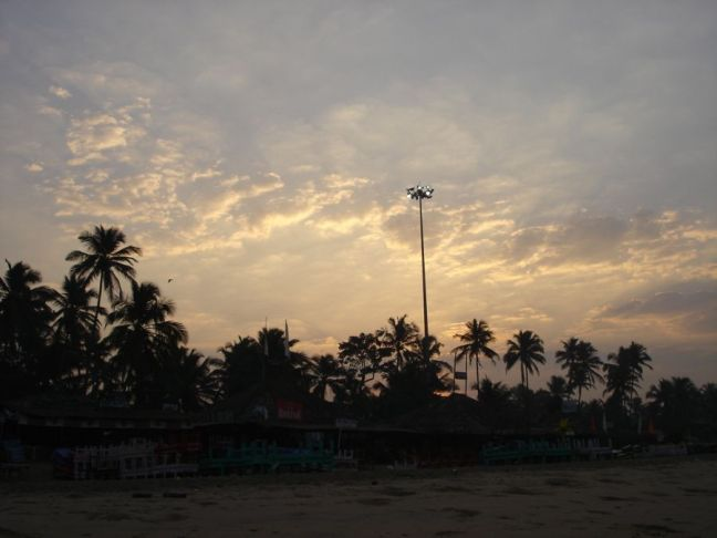 Sunrise at Baga Beach