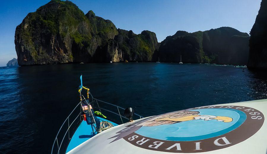 Princess Divers, Phi Phi Island