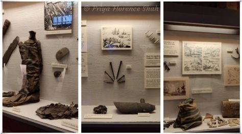 Some objects used by explorers