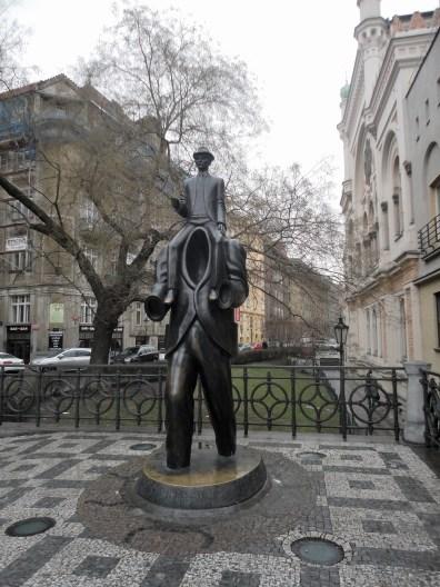 Monumento a Franz Kafka a Praga