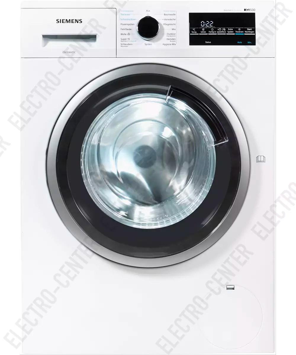 Siemens Siemens Waschtrockner Wd15g443 Letzshop