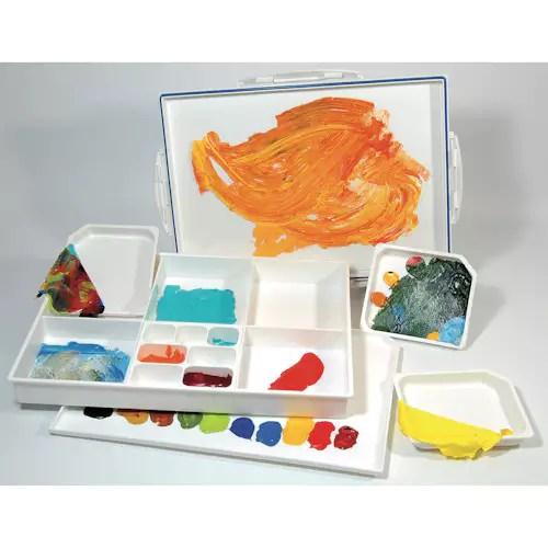 Palette De Peinture Acrylique Paletti Letzshop