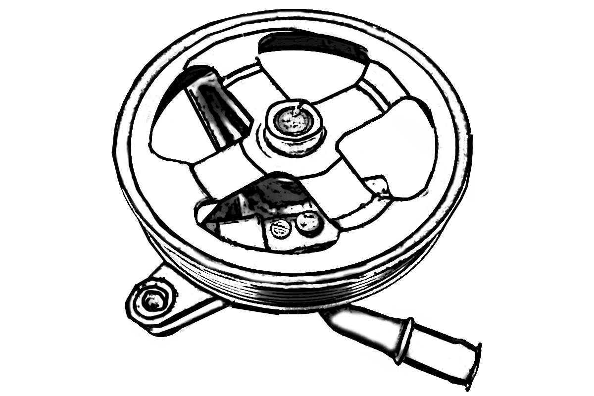Toyota 4 Runner Power Steering Pump
