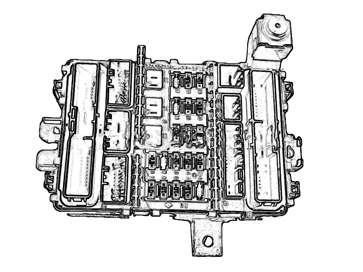 Nissan Altima Engine Fuse Box