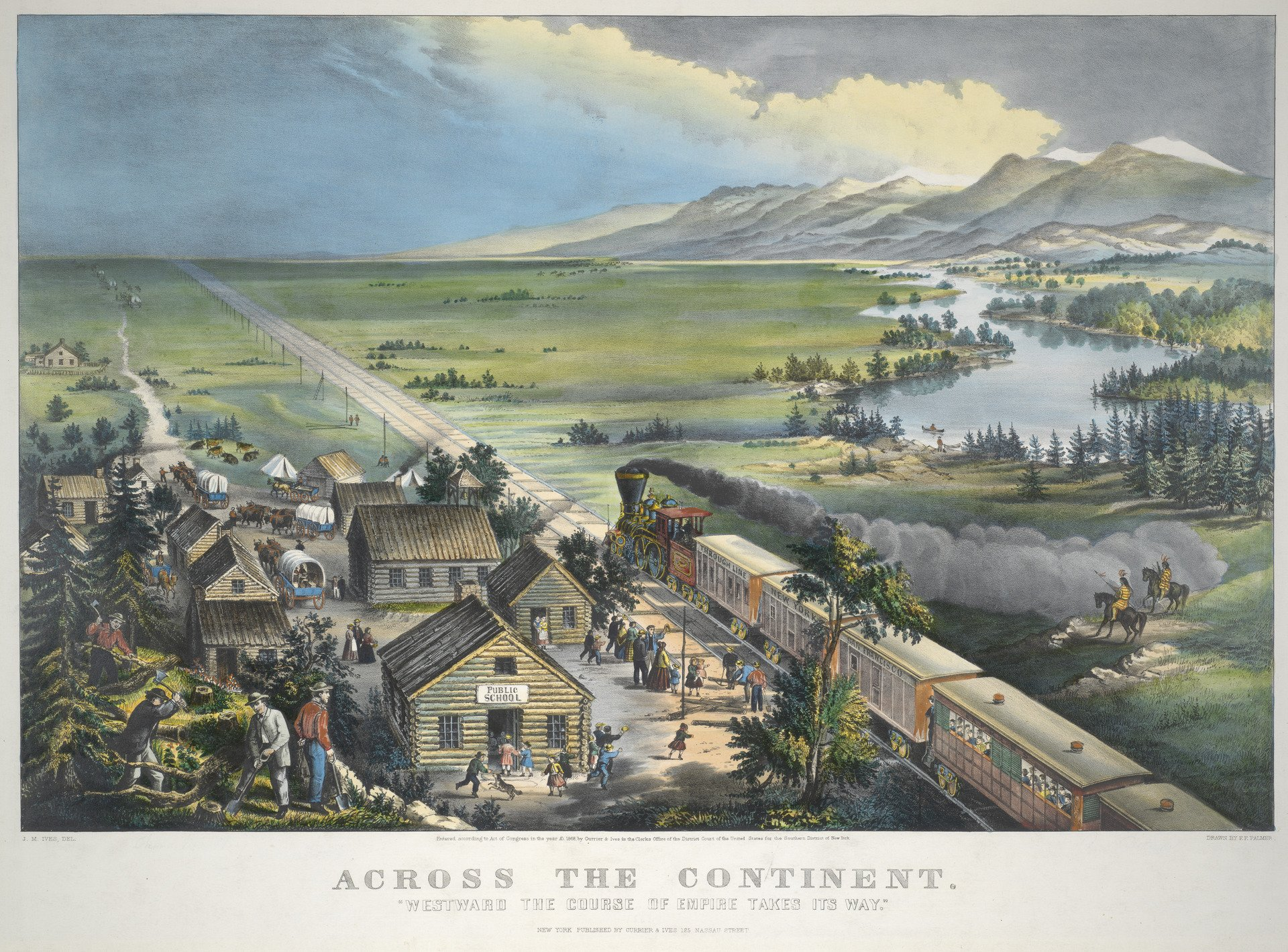 Currier & Ives, Across the Continent