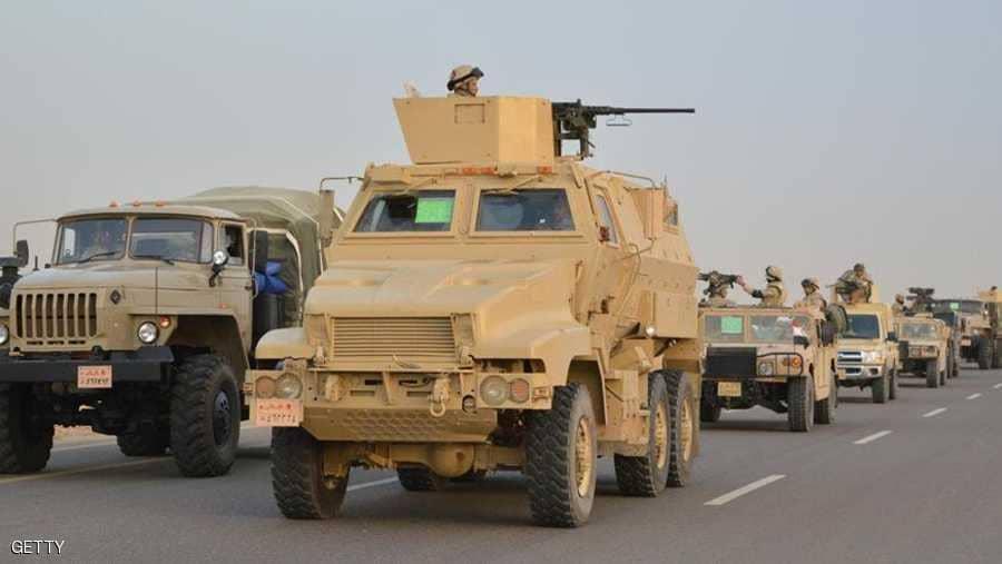 القوات المسلحة تعلن مقتل عشرات الإرهابيين بمواجهات في سيناء