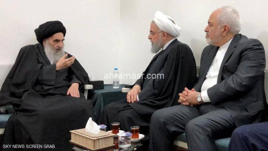 لقاء روحاني والسيستاني.. رسائل إلى واشنطن والنظام الإيراني
