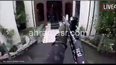 عاجل هجوم مرعب على مسجد نيوزيلندي وسقوط العشرات