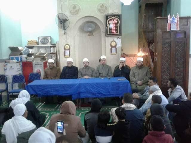 حب النبي وآله بالامسيات الدينية بمساجد اوقاف الاسكندرية