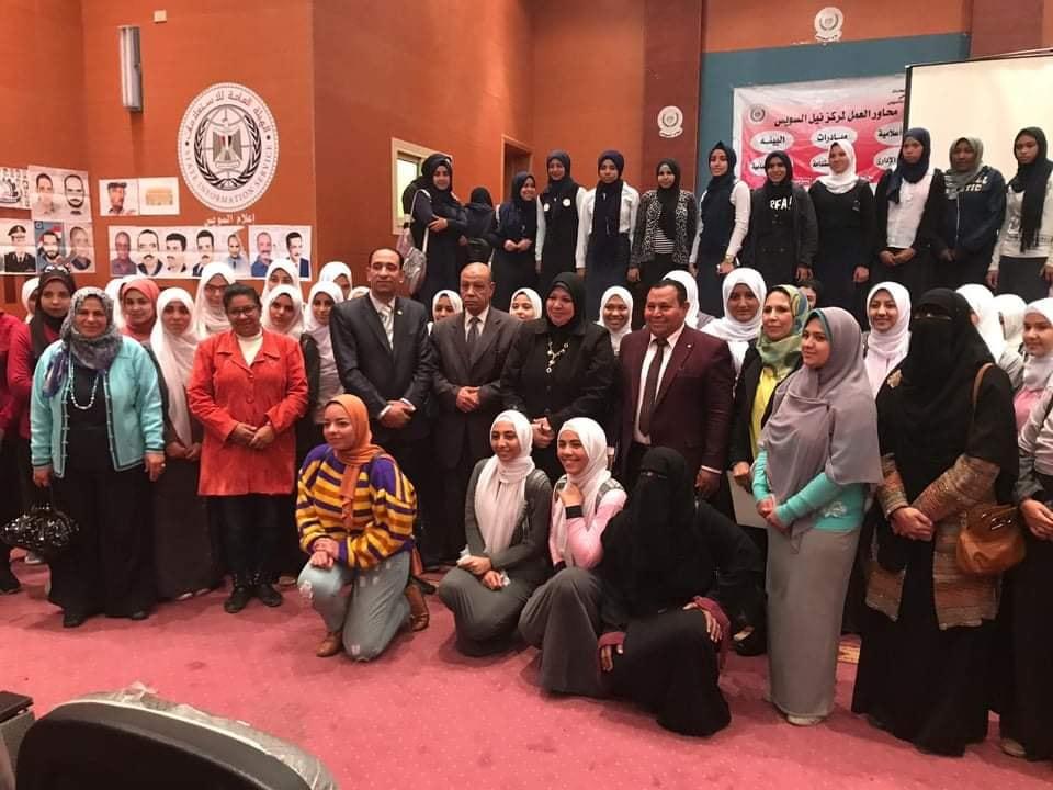 """ندوة بعنوان """"المشكلة السكانية الأسباب والحلول"""" بمركز النيل للإعلام بالسويس"""