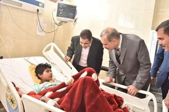 محافظ أسيوط يتفقد أقسام مستشفى الإيمان العام .. ويفتتح وحدة غسيل كلوي للاطفال