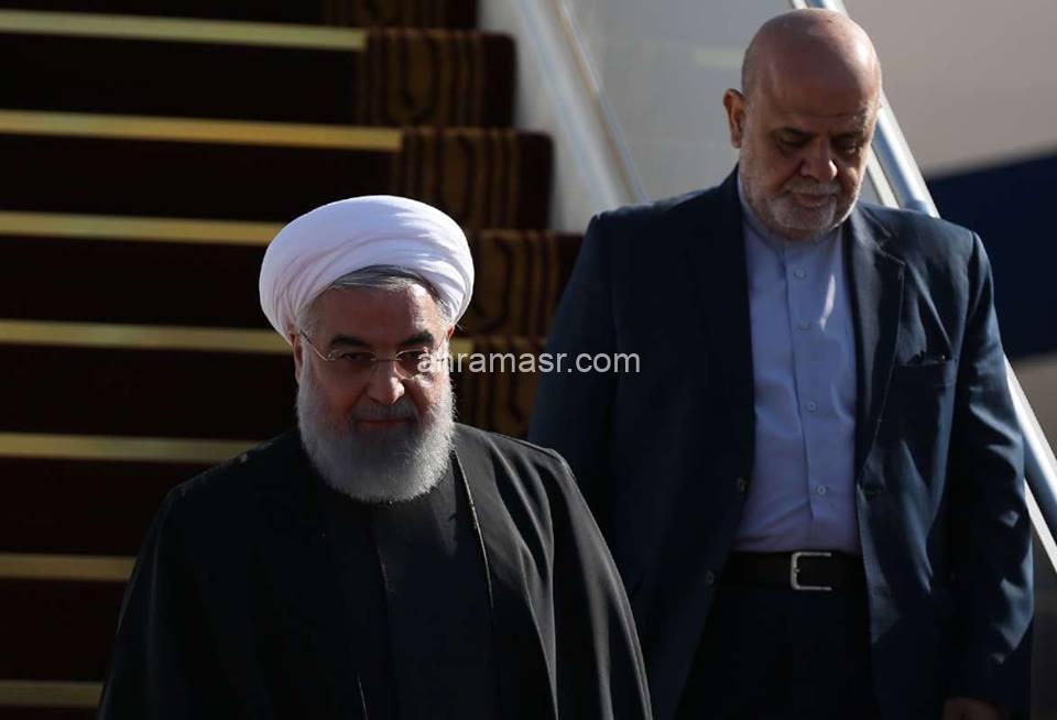 تفأصيل : حول زيارة الرئيس الإيراني حسن الروحاني إلي العراق حول اتفاقية حسن الجوار