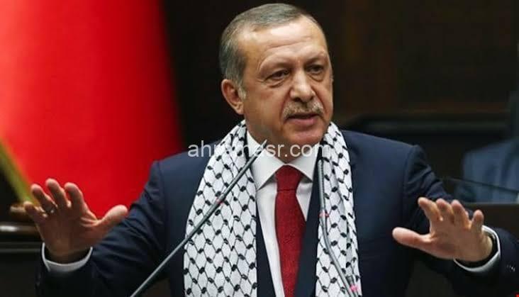 تركيا : أردوغان يعلن حرب التصريحات علي رئيس الوزراء بنيامين نتنياهو بشأن القدس