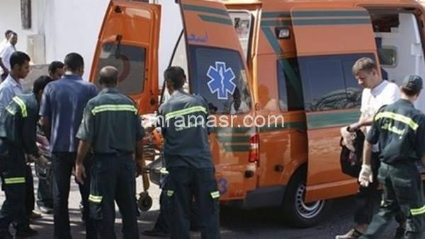 مصرع شخص وإصابة أخر في حادث تصادم بسوهاج