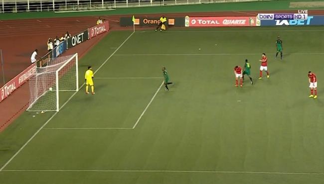 الــُدب الكونغولى يلتهم المارد الأحمر .. فى أفريقيا  فاز بهدف دون رد .. وتصدر المركز الثانى فى المجموعه