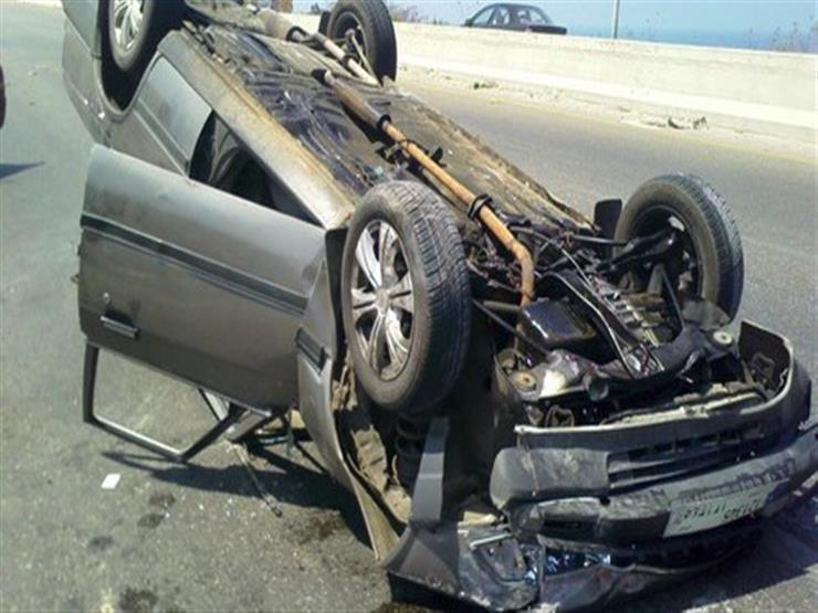 ضبط سائق بحوزته حشيش عقب انقلاب سيارته في سوهاج
