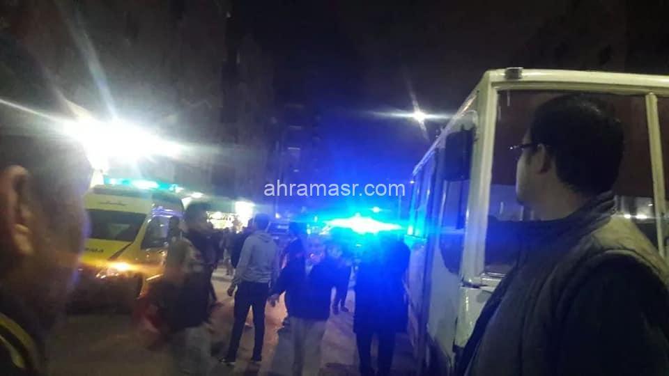 مصرع شخص وإصابة 2 أخرين في حادث تصادم بشبرا الخيمة