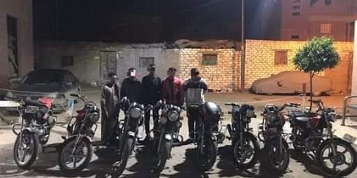مباحث مركز دسوق كفر الشيخ تتمكن من القبض علي تشكيل عصابي تخصص في سرقة الدراجات البخارية