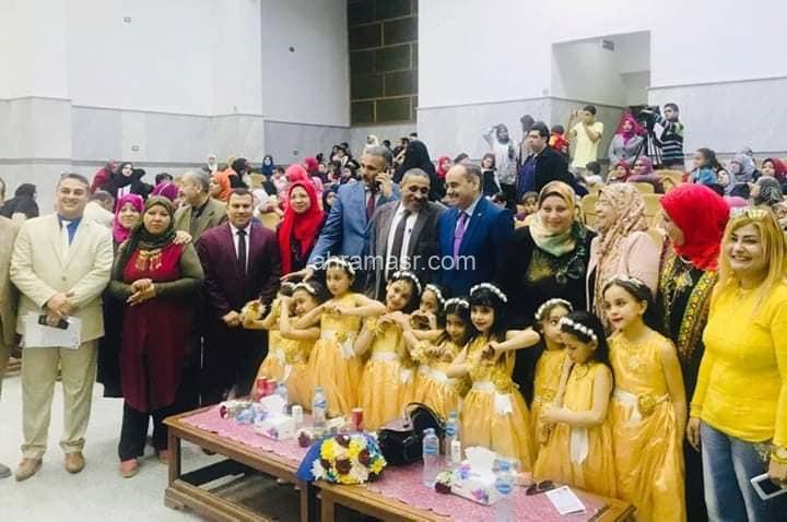 توجيه رياض الأطفال يبدع ويتألق في احتفالية عيد سوهاج القومي