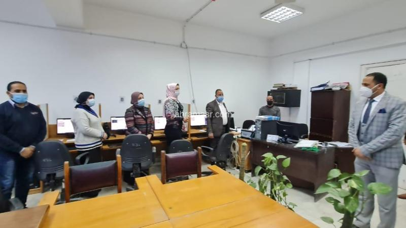 تدريب أمناء كليات جامعة دمنهور على نظام إدارة المؤسسة الإلكترونية…….