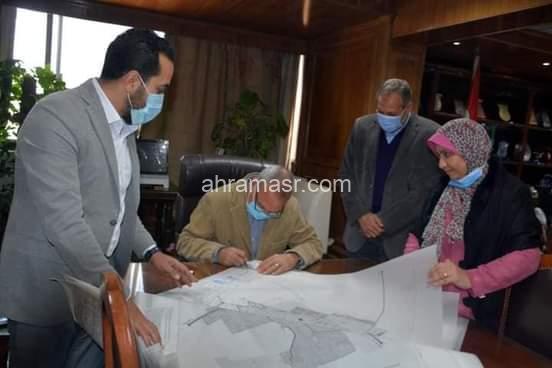 محافظ القليوبية يعتمد المخطط التفصيلي لـ 36 قرية بمدينه شبين القناطر