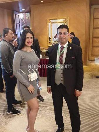 صافي سامح ملكة جمال العرب تشارك في المؤتمر الدولي لتنشيط السياحة