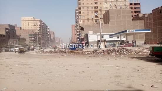 حمله نظافه الصباحيه بحي شرق شبرا الخيمه