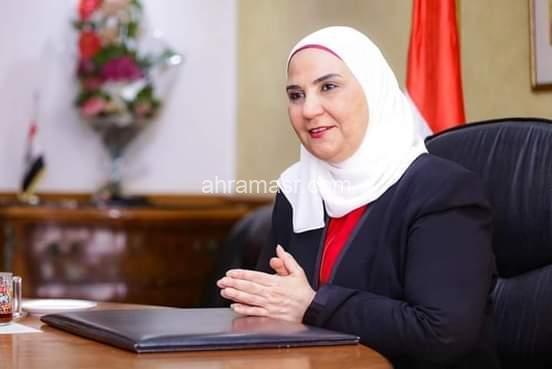 """بمناسبة عيد الفطر المبارك.. وزيرة التضامن الاجتماعي توجه بصرف مساعدات كرامة """"الأحد"""".. وتكافل """"الإثنين"""""""