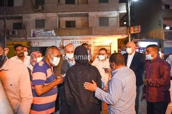 السيد اللواء أشرف الداودى يقود بنفسه حملة للقضاء علي ظاهرة التسول بمحافظة قنا.