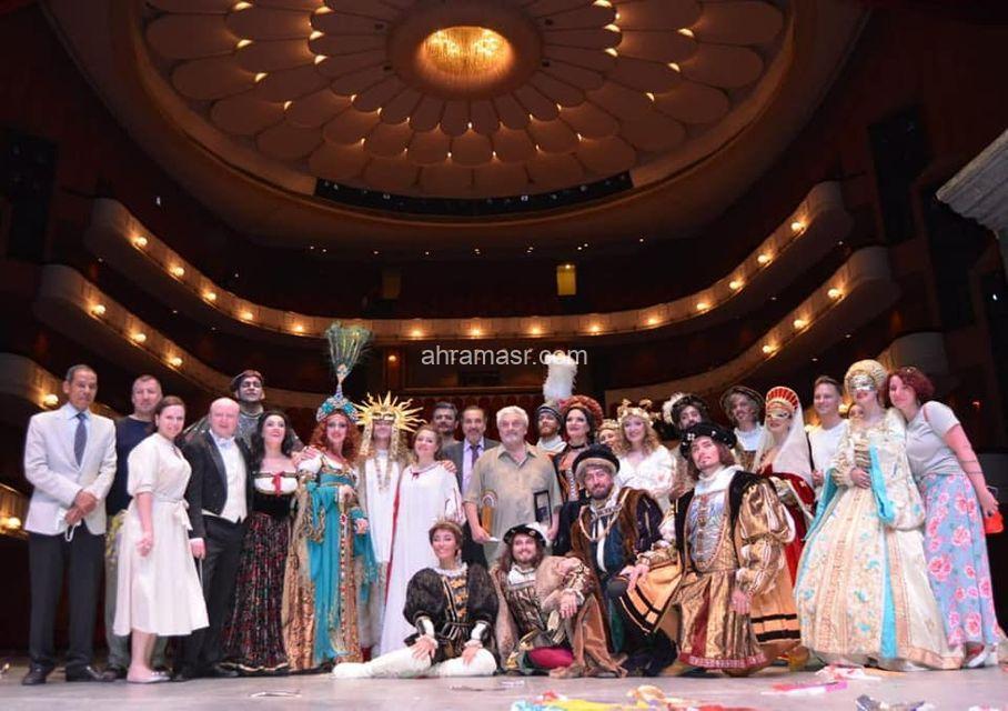 ختام مبهر وتكريم شعبى للاوبرا الروسية في ليلة مصرية رائعة