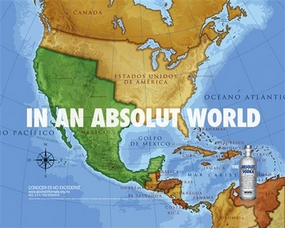 Mexico US Absolut Ads