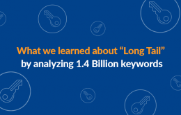 "What we learned about ""Long Tail"" by analyzing 1.4 Billion keywords"