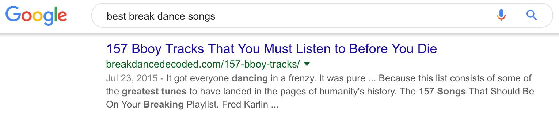 Melhores músicas do break dance Google Search