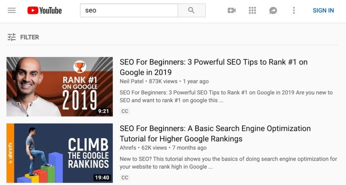 YouTube SEO: How to Rank Your Videos From Start to Finish 2019
