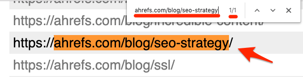 sitemap search
