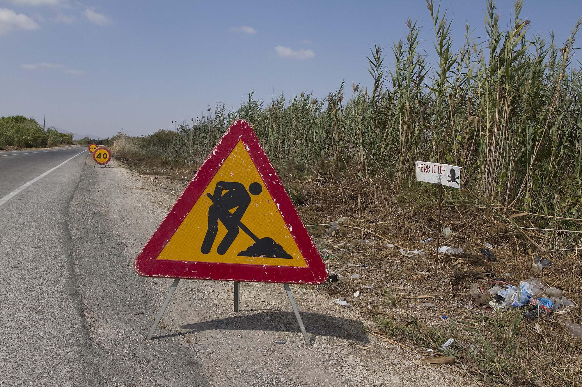 señales herbicida